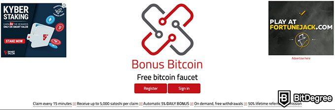 bitcoin rubinetto alto payout